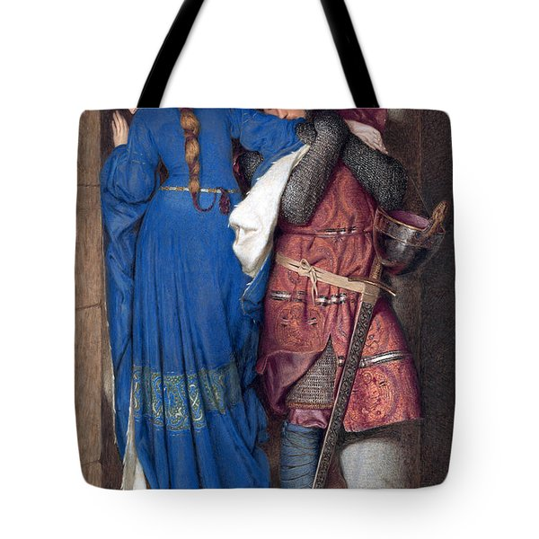 Hellelil And Hildebrand Or The Meeting On The Turret Stairs Tote Bag