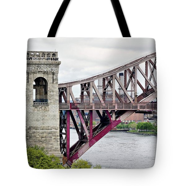 Hellgate In Grey Tote Bag