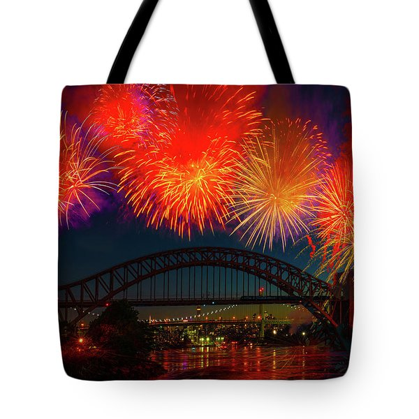 Tote Bag featuring the photograph Hellgate Independence Celebration by Chris Lord