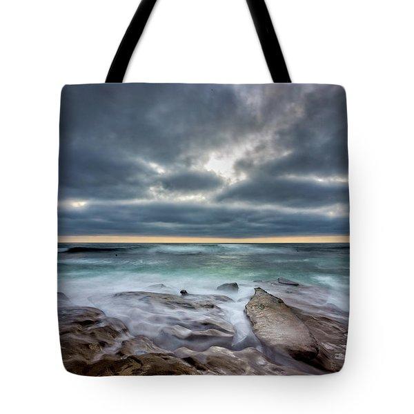 Hellishly Heavenly Tote Bag by Peter Tellone