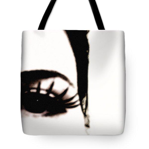 Hello Tote Bag by Amanda Barcon
