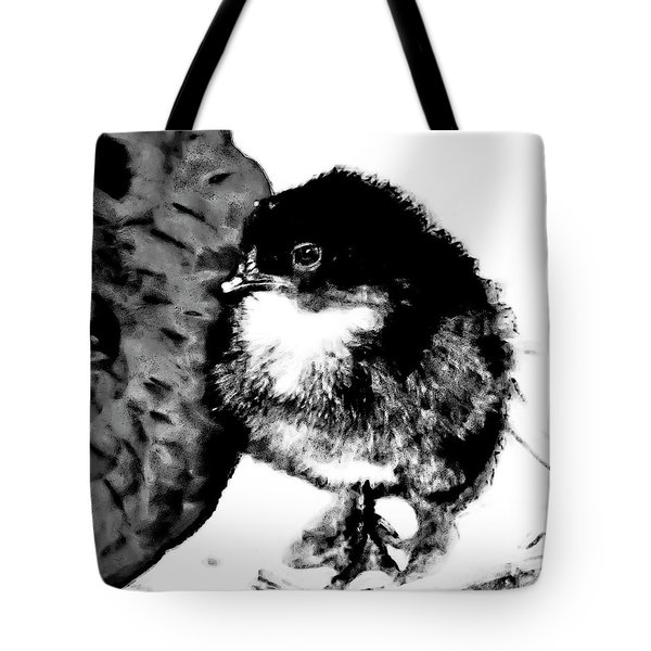 Hello Baby Chick Tote Bag