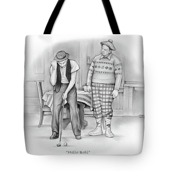 Hello Ball Tote Bag