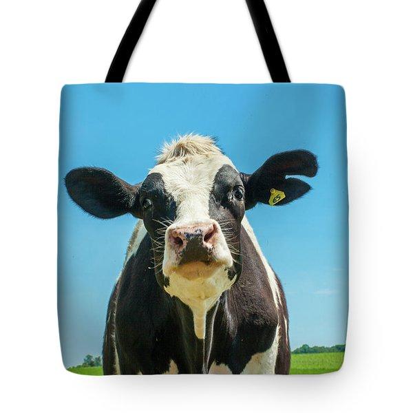 Hello Bessie Tote Bag