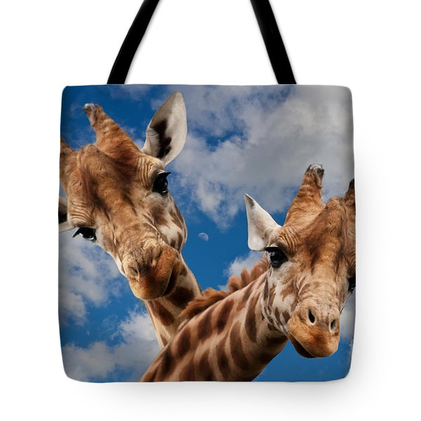 Tote Bag featuring the photograph Hello by Christine Sponchia