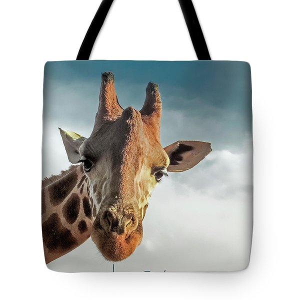 Tote Bag featuring the photograph Hello Down There by Karen Lewis