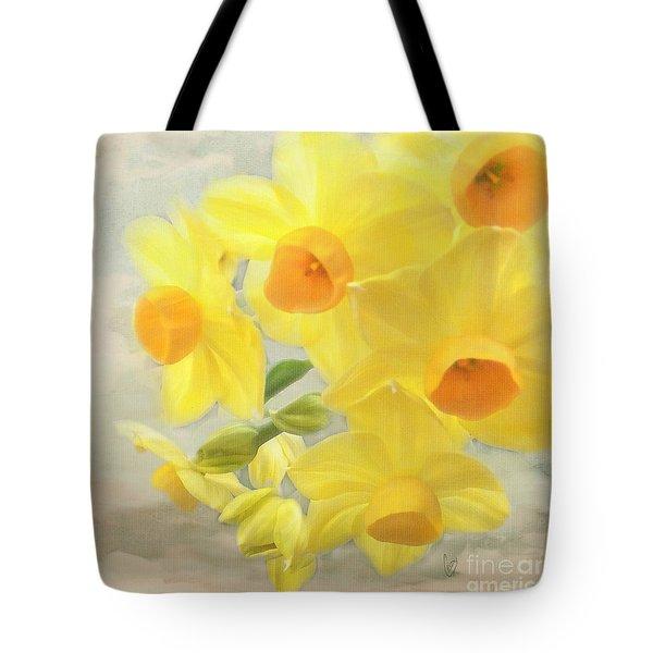 Hello February Tote Bag