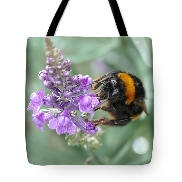 Tote Bag featuring the photograph Hello Flower by Ivana Westin
