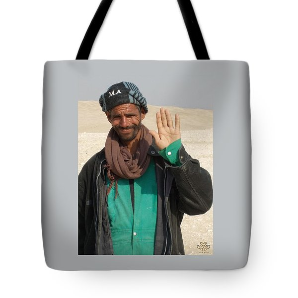 Hello From Cairo Egypt Tote Bag