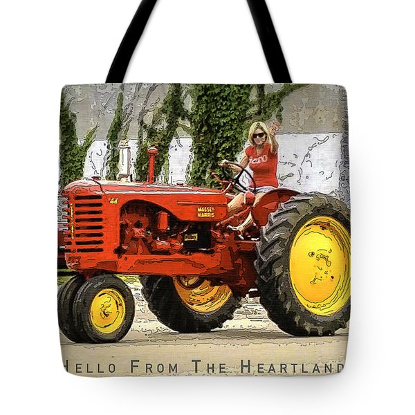Hello From The Heartland Tote Bag