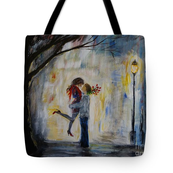 Hello Honey Tote Bag by Leslie Allen