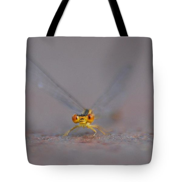 Tote Bag featuring the photograph Hello by Ramona Whiteaker