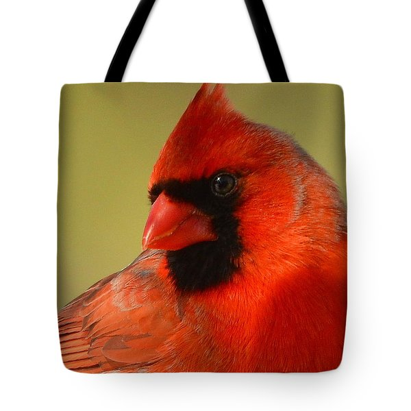 Hello Red Tote Bag