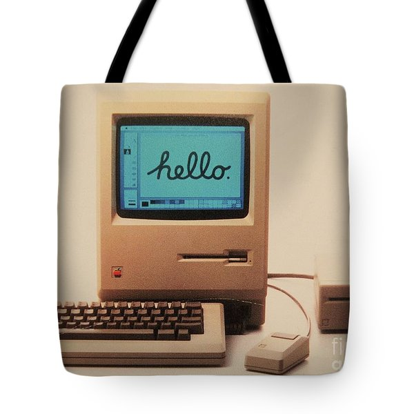 Hello Remember Me Tote Bag
