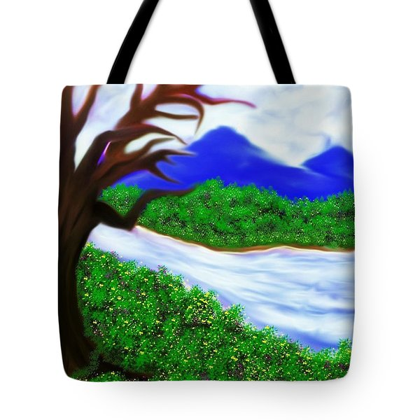 Hello Spring Time Tote Bag