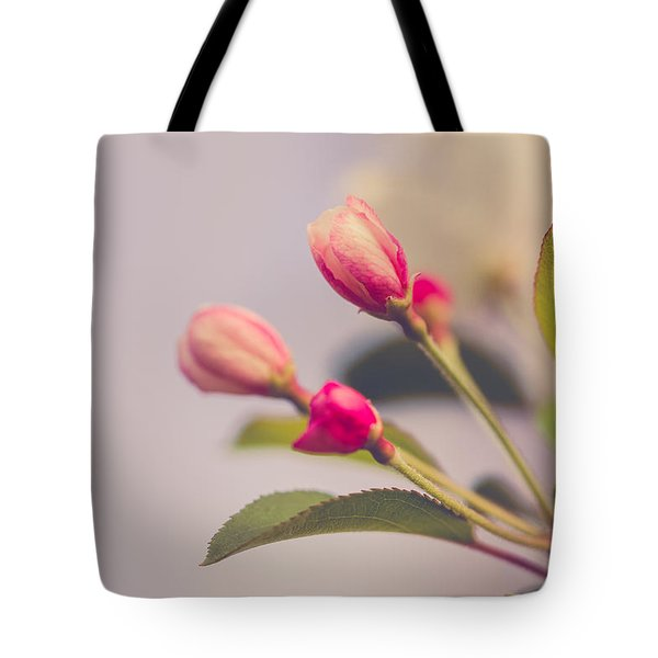 Tote Bag featuring the photograph Hello Spring by Yvette Van Teeffelen