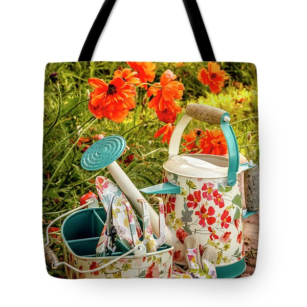 Tote Bag featuring the photograph Hello Summer by Teri Virbickis