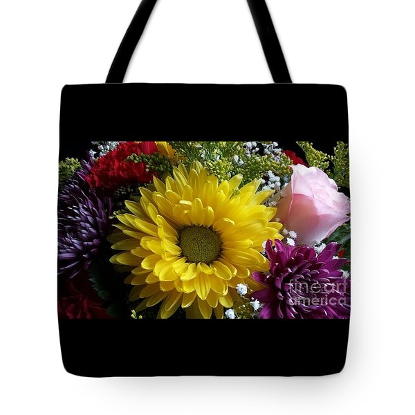 Hello Sunshine Tote Bag by Becky Lupe