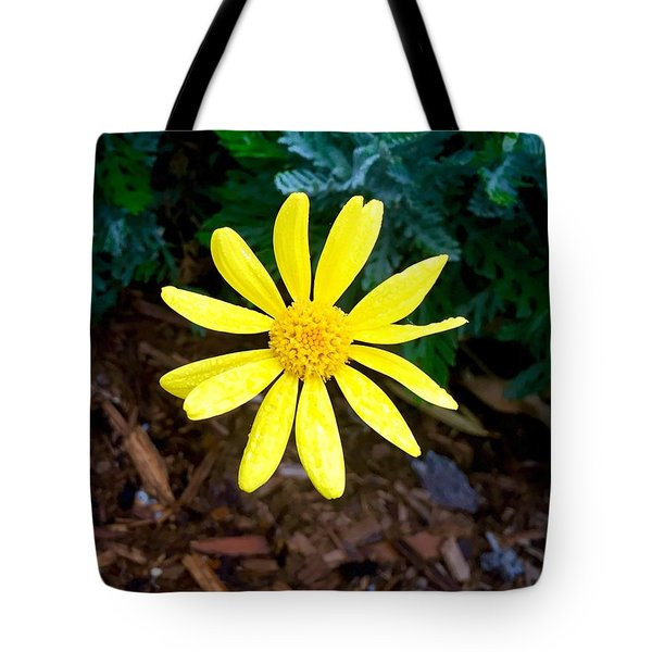 Hello Yellow Tote Bag by Russell Keating