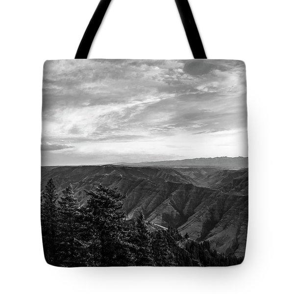 Hells Canyon Drama Tote Bag