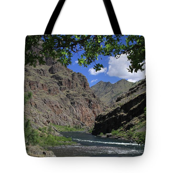 Hells Canyon Snake River Tote Bag