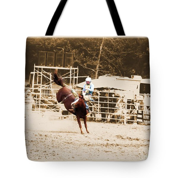Helluva Rodeo-the Ride 3 Tote Bag