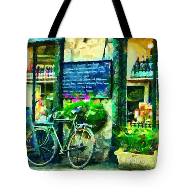 Helmsley Quality Cheese Tote Bag