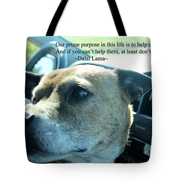 Tote Bag featuring the photograph Help Others by Beauty For God