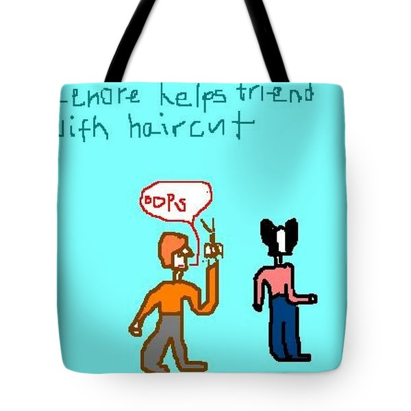 Helping Tote Bag by Lenore Senior