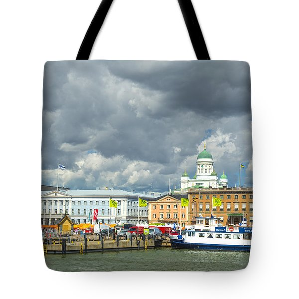 Helsinki, South Harbor Tote Bag