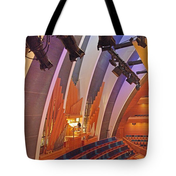 Helzberg Hall #3 Tote Bag
