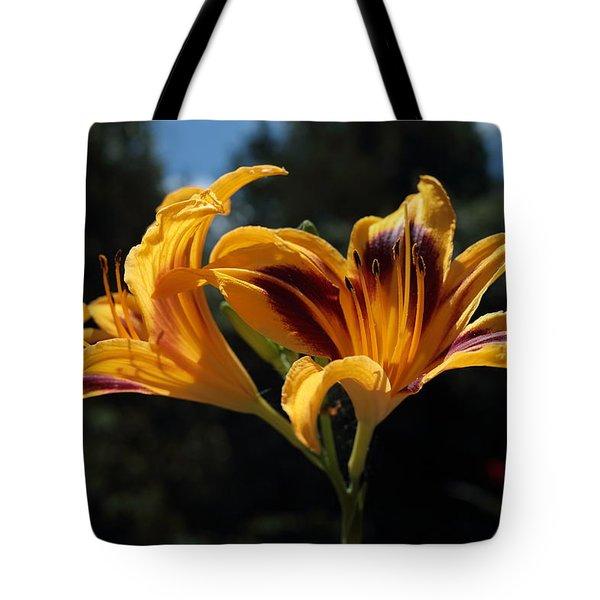 Hemerocallis Tote Bag