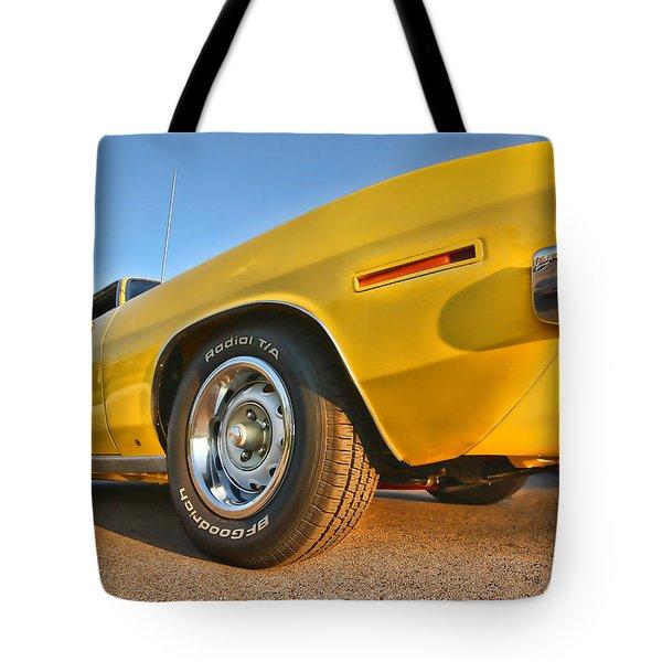 Hemi 'cuda - Ready For Take Off Tote Bag by Gordon Dean II