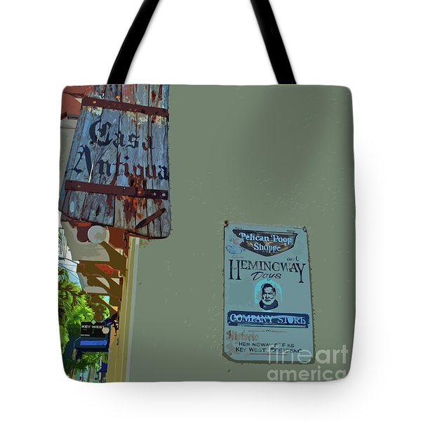 Tote Bag featuring the photograph Hemingway Casa by Jost Houk