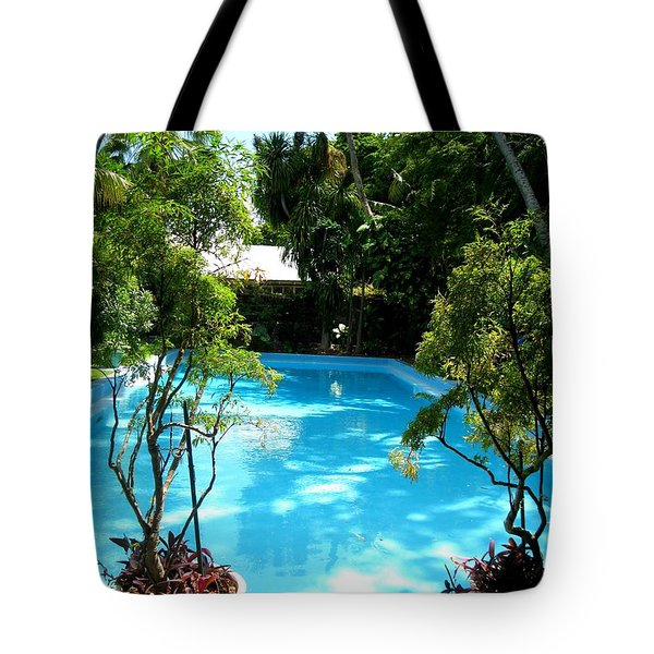 Hemingway Pool Tote Bag