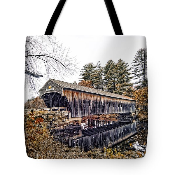 Hemlock Covered Tote Bag