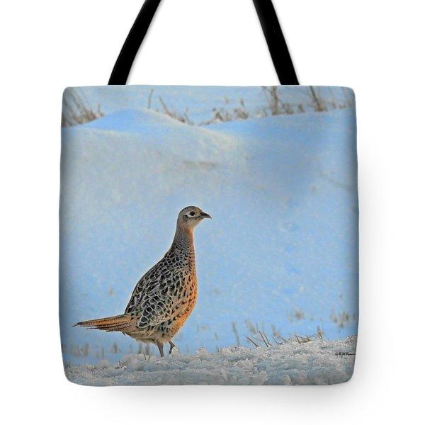 Hen Pheasant Tote Bag
