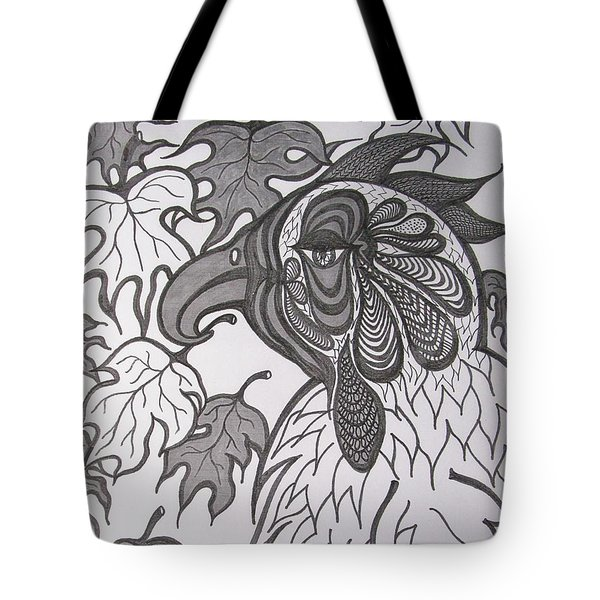 Hen Tote Bag by Rosita Larsson