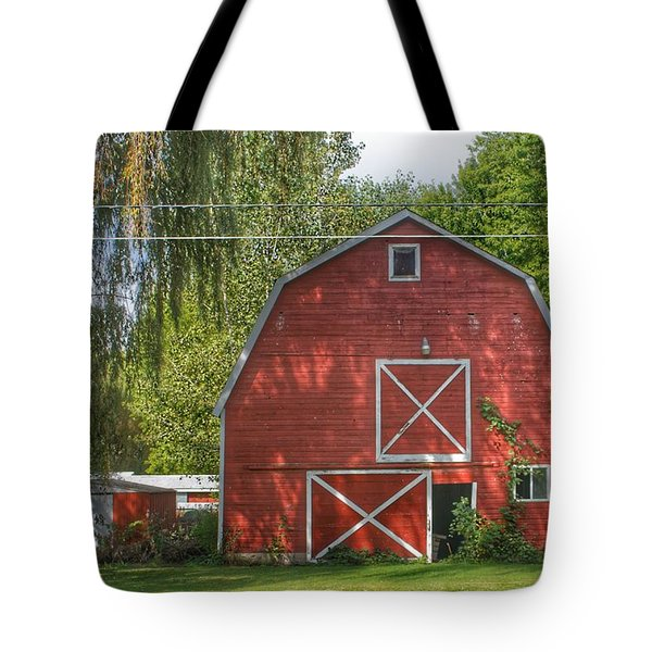 0018 - Henderson Road Red I Tote Bag