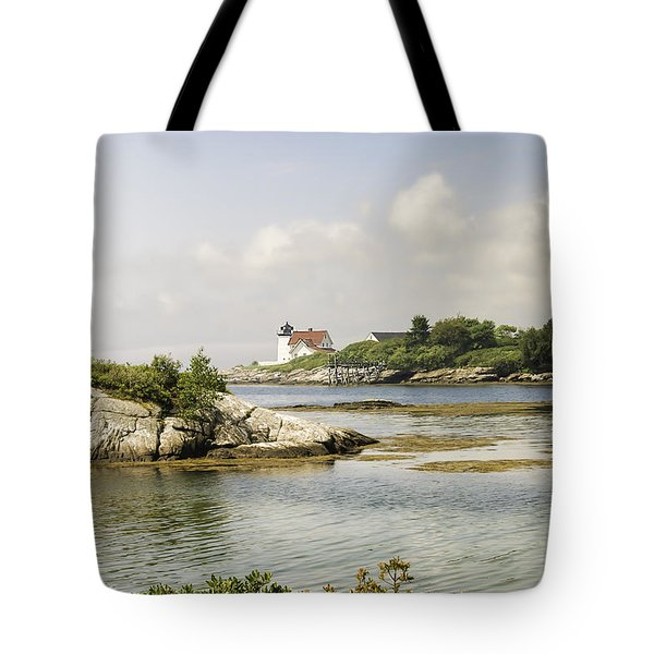 Hendricks Head Lighthouse Tote Bag