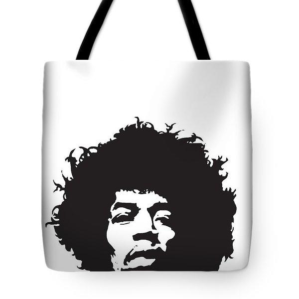Hendrix No.01 Tote Bag by Caio Caldas