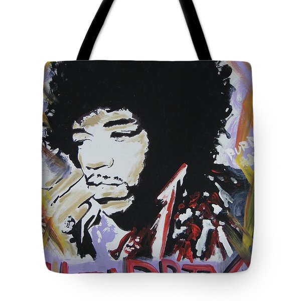 Hendrix Thoughts Tote Bag