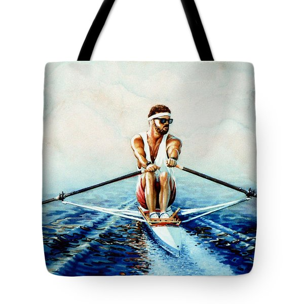 Henley On The Horizon Tote Bag by Hanne Lore Koehler