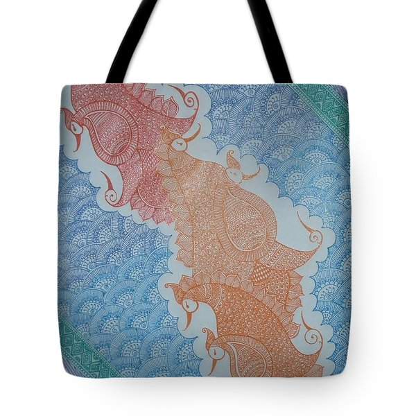 Henna_12 Tote Bag
