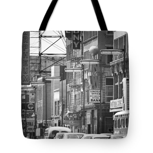 Hennepin And The Orpheum Tote Bag