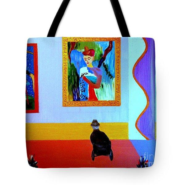Henri Remembers Tote Bag