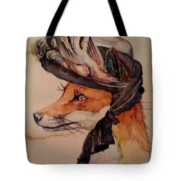 Henrietta Fox Tote Bag