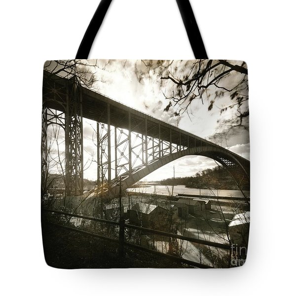 Henry Hudson Bridge, 1936 Tote Bag by Cole Thompson