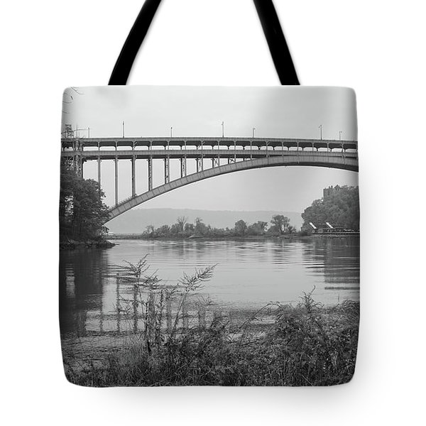 Henry Hudson Bridge  Tote Bag by Cole Thompson