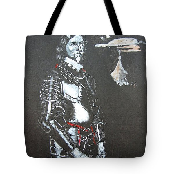 Tote Bag featuring the painting Henry Ireton by Richard Le Page